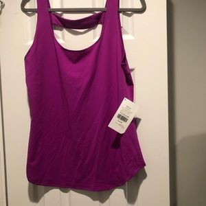 Fabletics work out tank. Large. NWT